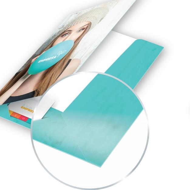 Papel couché brilhante de 350g/m2