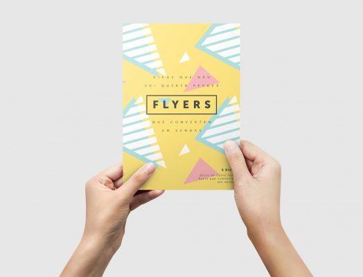 Como fazer flyers