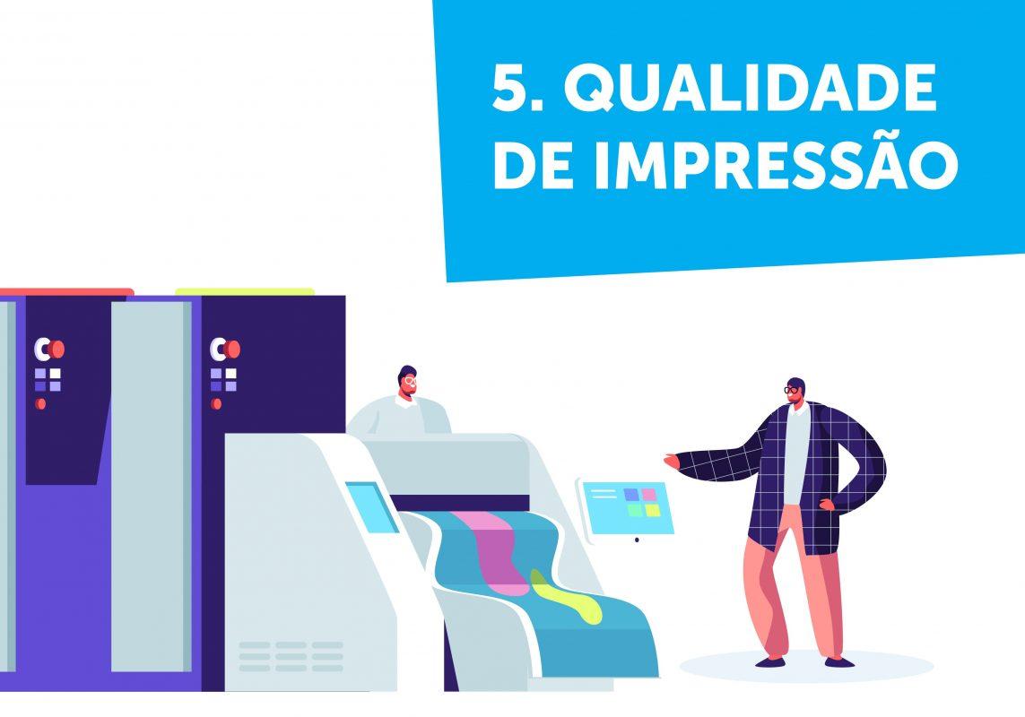 Fazer flyers - Qualidade de impressão