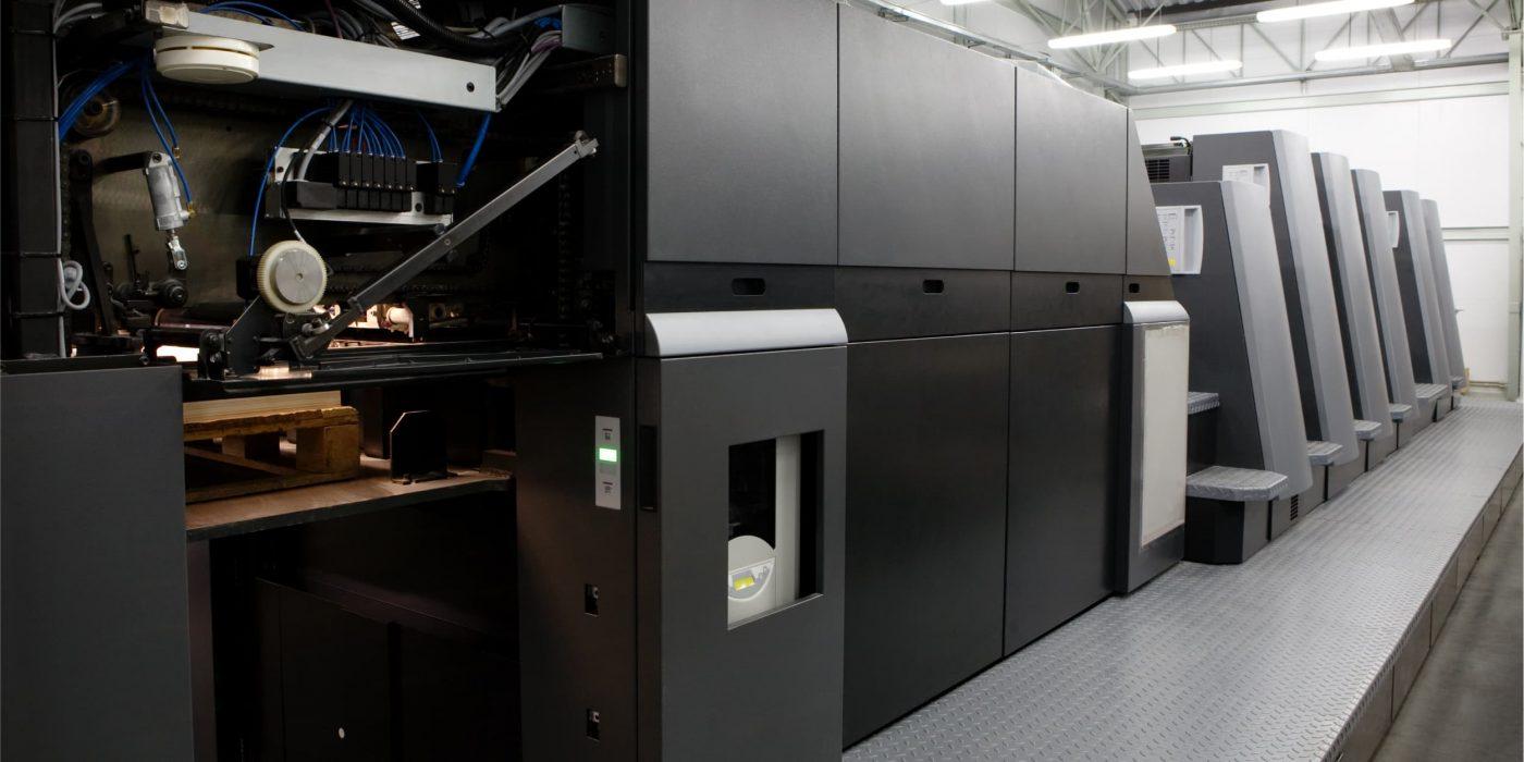 Equipamento de impressão offset