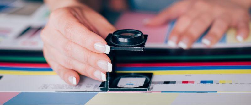 Impressão digital ou impressão offset