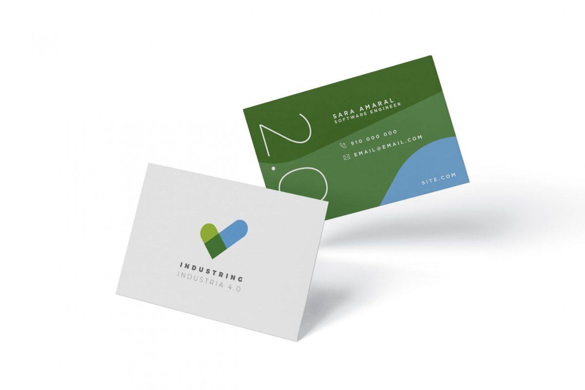 Cartões de visita exemplo