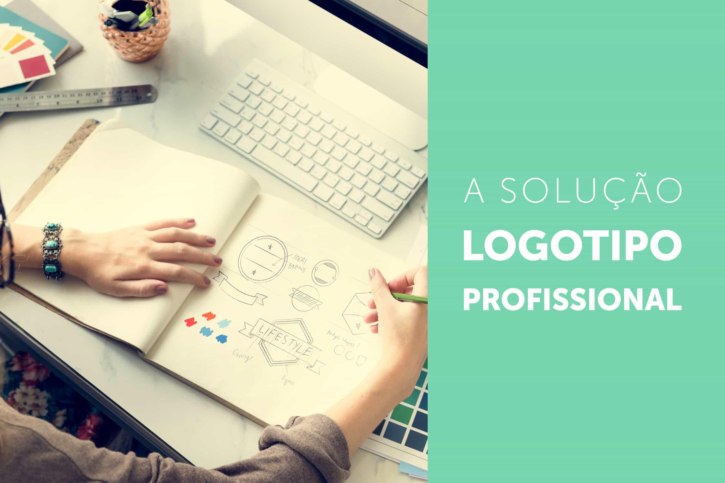 A solução para logotipos é a criação profissional por designers