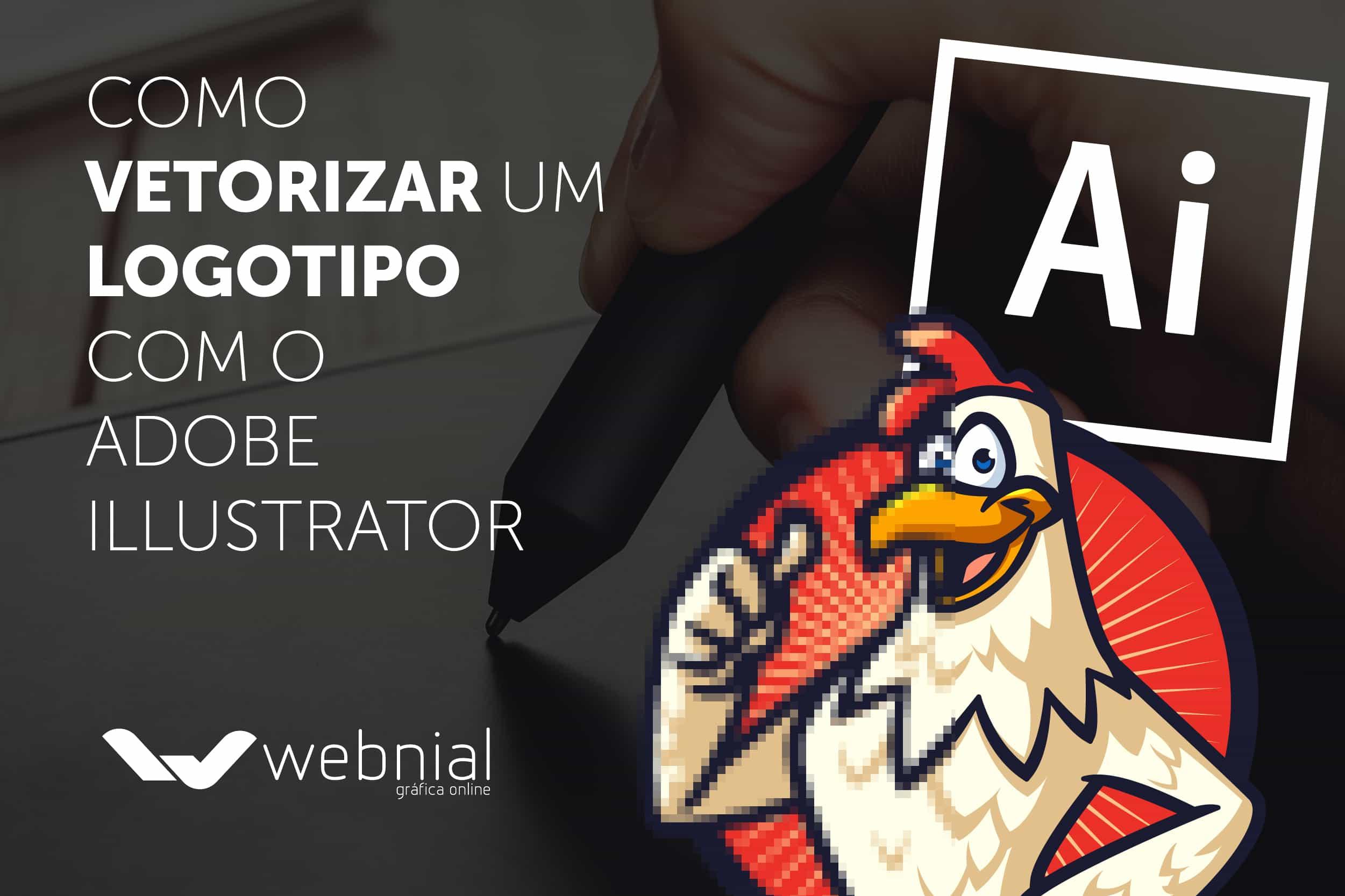 Como vetorizar um logotipo com o Adobe Illustrator