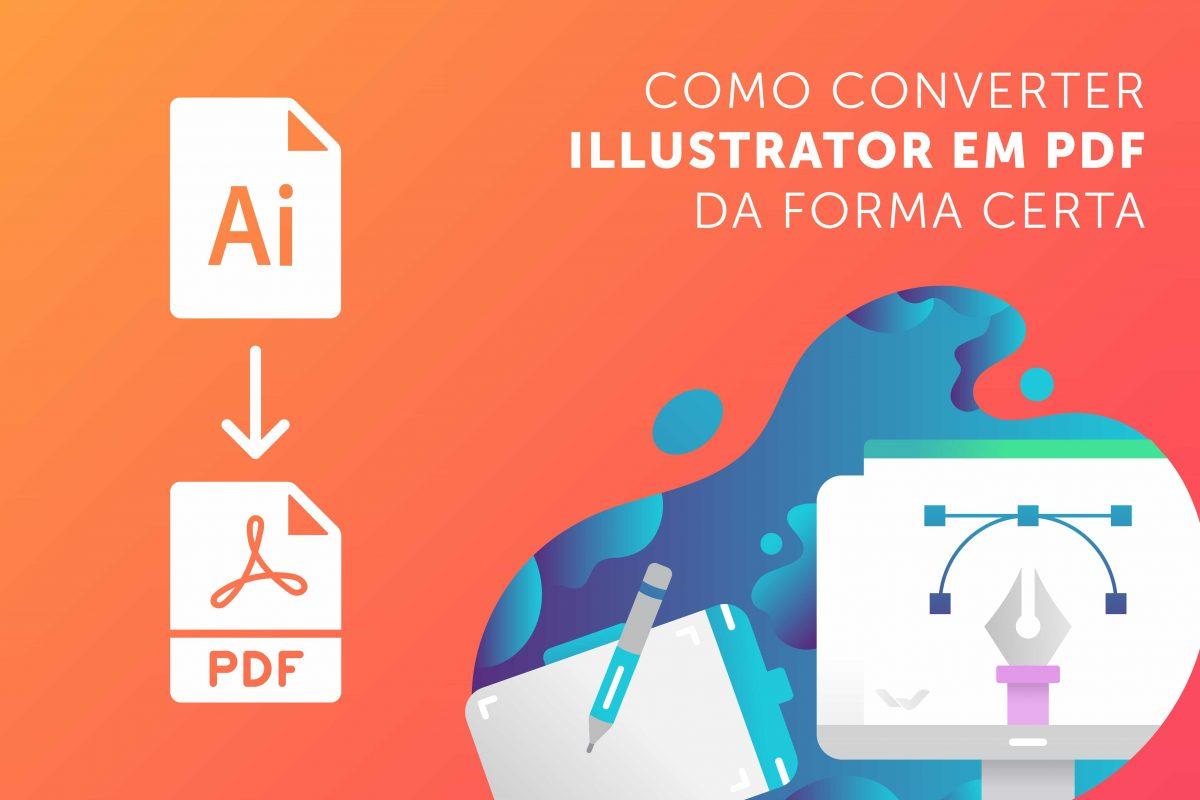 Illustrator em PDF