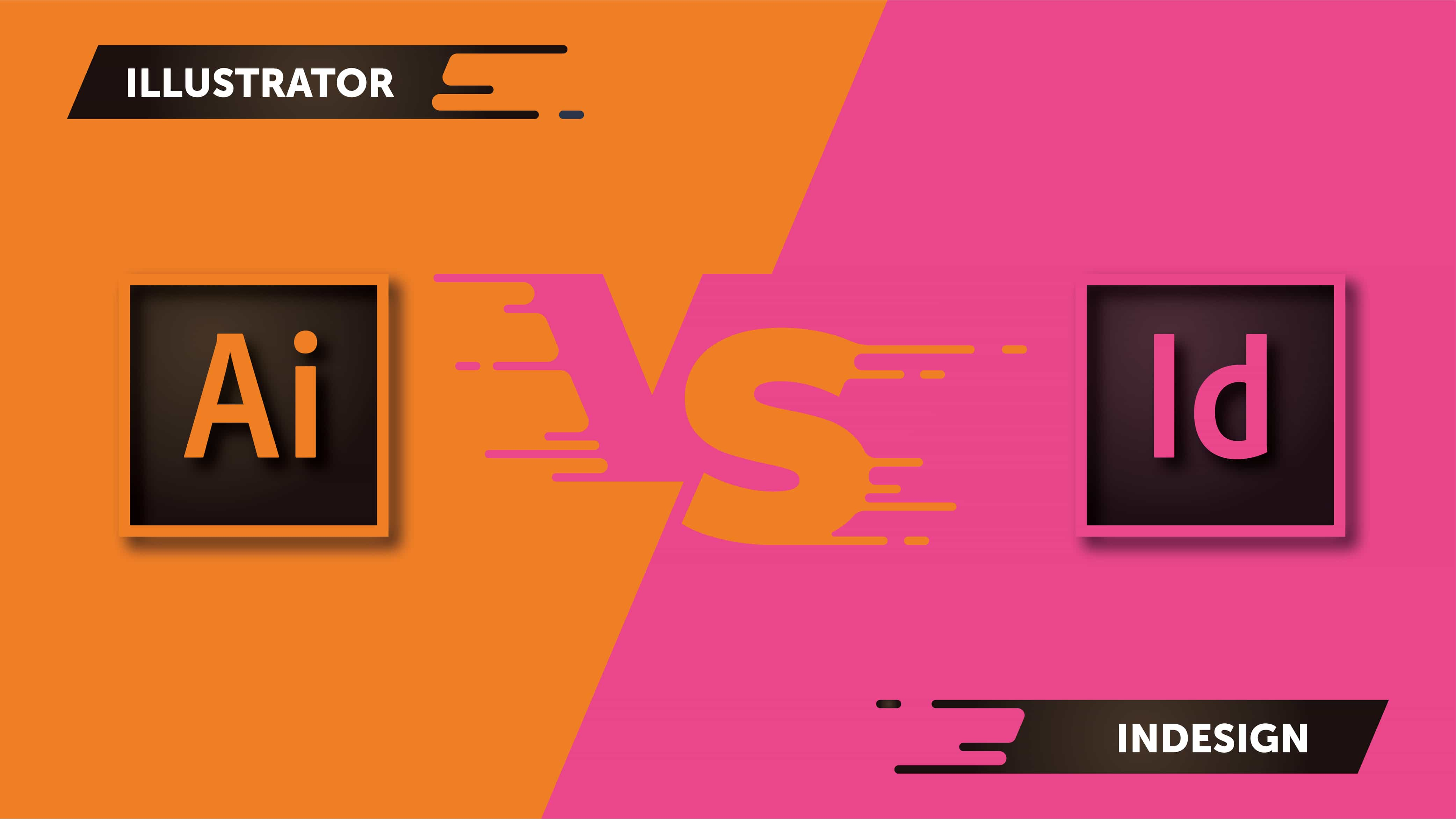 Qual a diferença entre o Illustrator e o InDesign