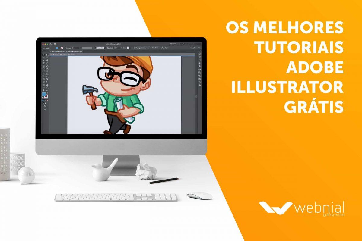 Os melhores tutoriais de Adobe Illustrator Grátis