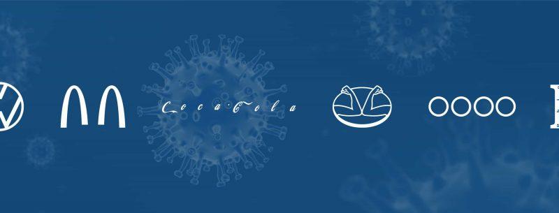 covid 19 logotipos spot