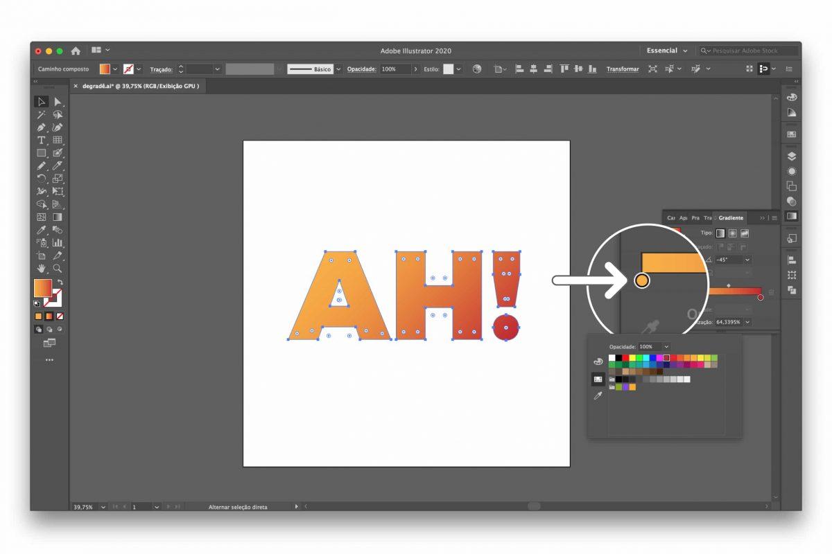 gradiente illustrator
