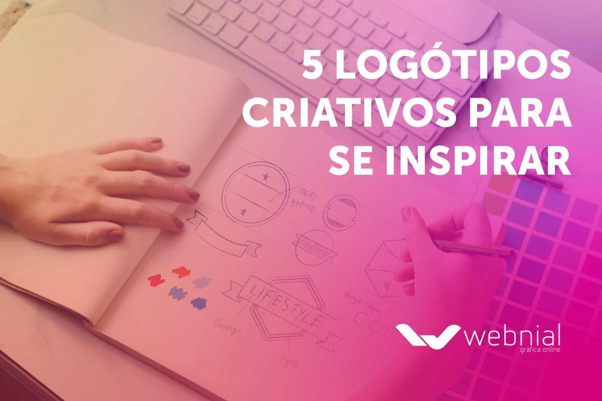 5 logótipos criativos para se inspirar
