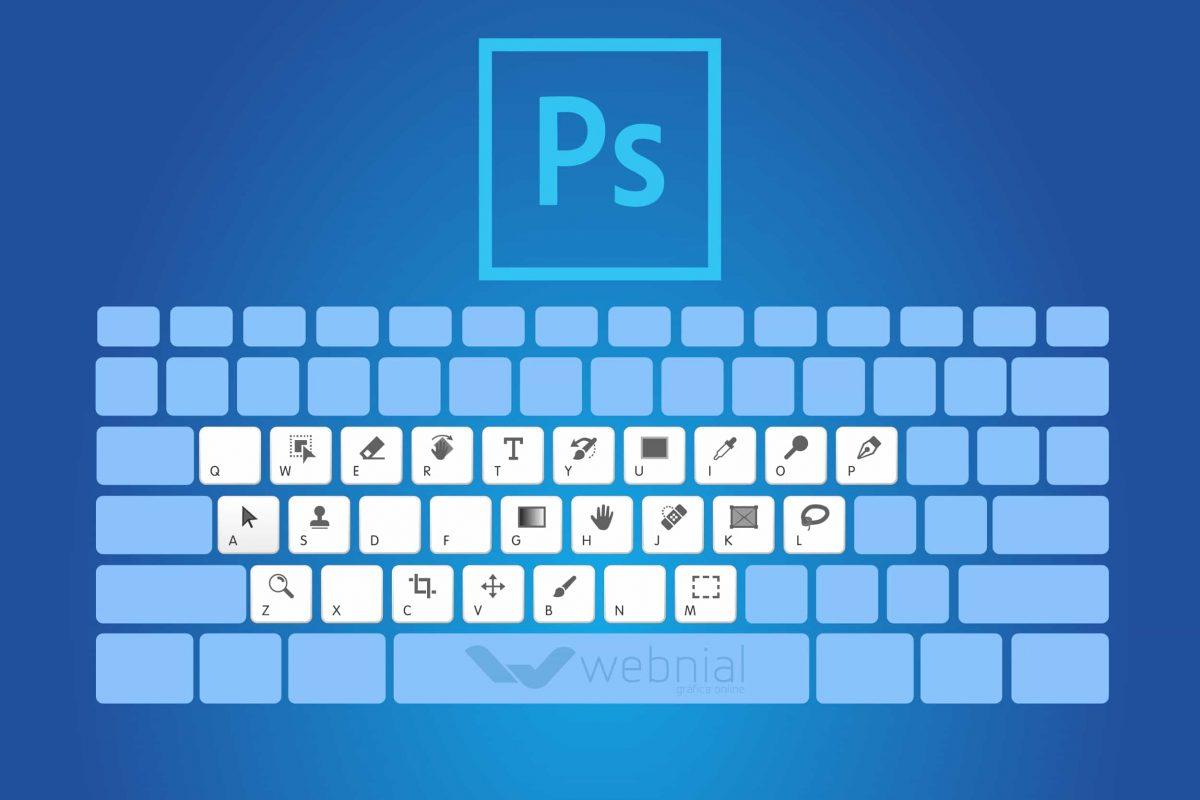Atalhos teclado Photoshop
