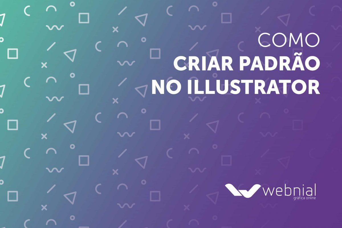 Como criar padrão no Illustrator