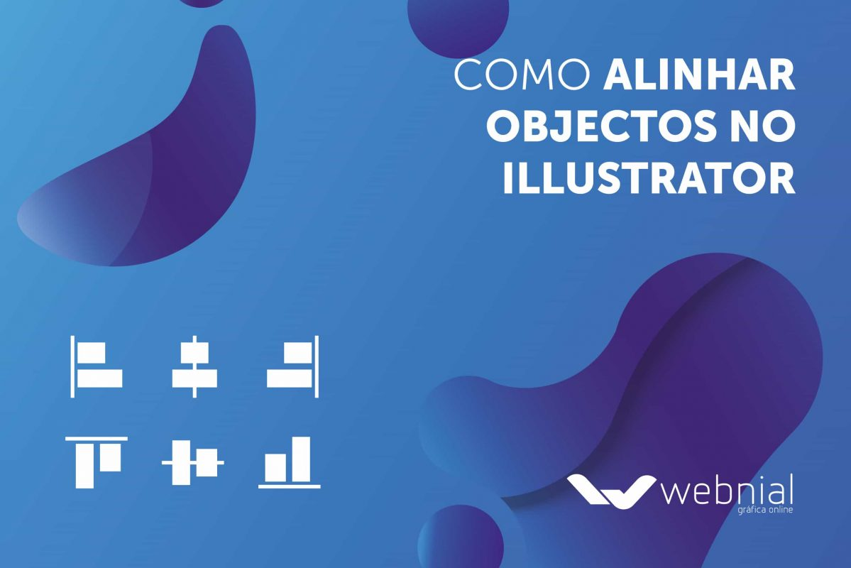Alinhar objectos no Illustrator